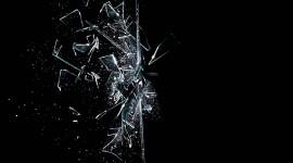 Broken Glasses Wallpaper 1080p
