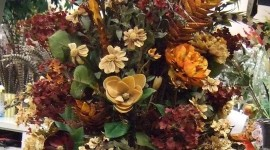 Brown Flowers Wallpaper For IPhone