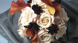 Brown Flowers Wallpaper Free