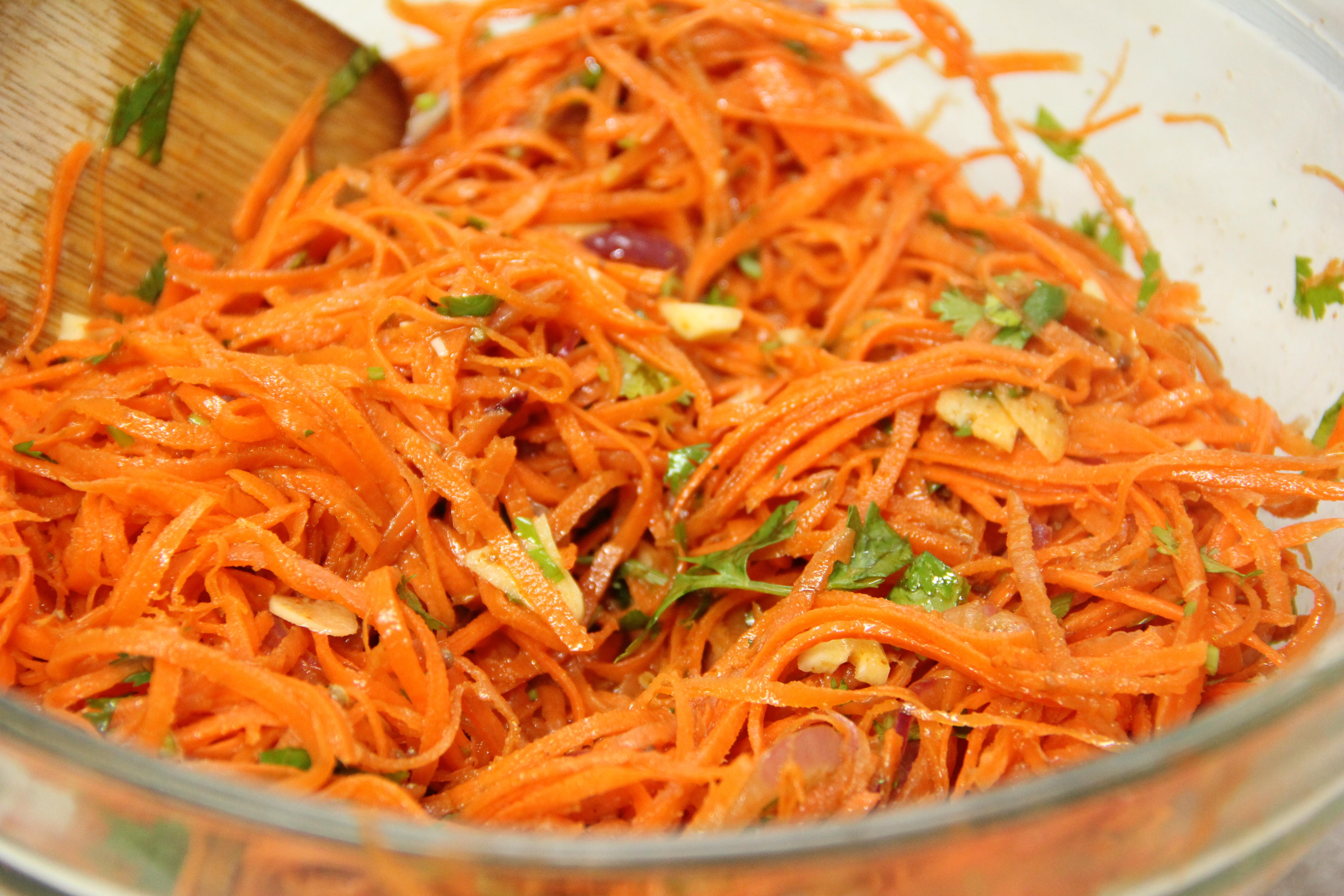 Корейские салаты рецепты с из капусты и моркови
