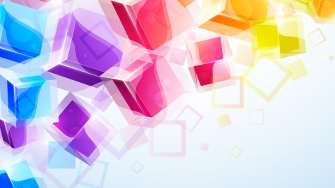 Colorful Squares wallpapers high quality