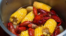 Crayfish Cooking Photo Free