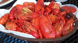 Crayfish Cooking Wallpaper