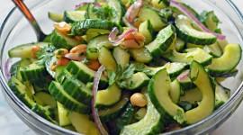Cucumber Salad Wallpaper HQ