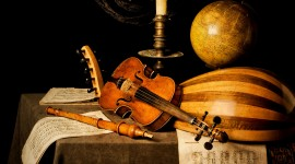 Old Musical Instruments Best Wallpaper
