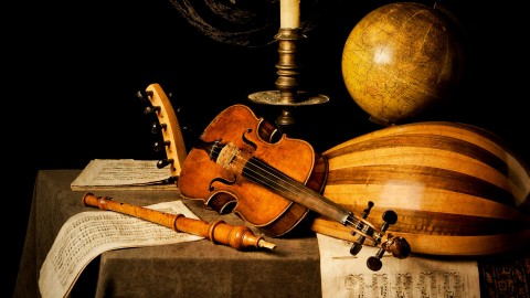 Old Musical Instruments wallpapers high quality