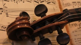 Old Musical Instruments Wallpaper