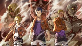 Shingeki No Kyojin Wallpaper Full HD