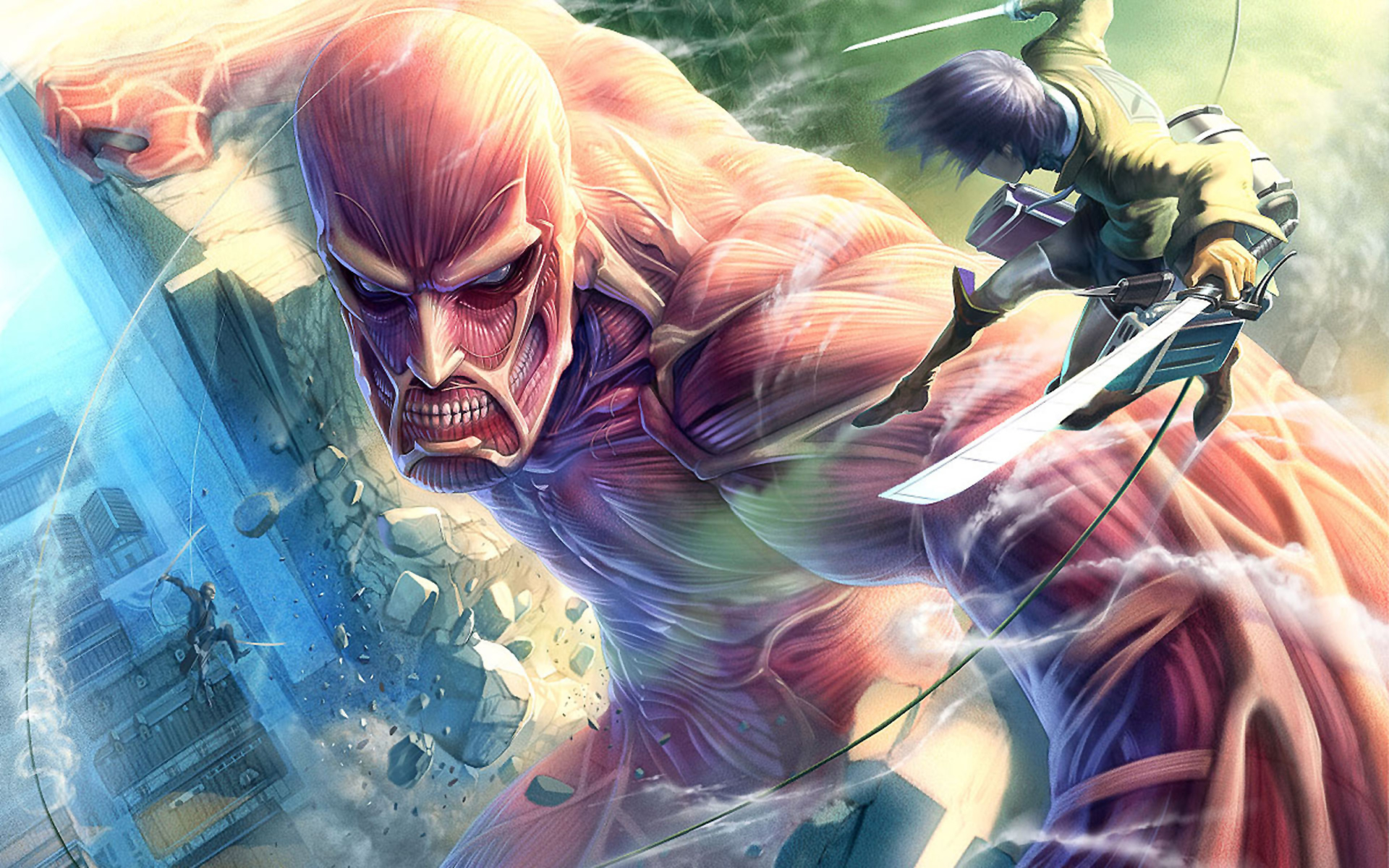 Shingeki no kyojin wallpapers high quality download free - High quality anime pictures ...