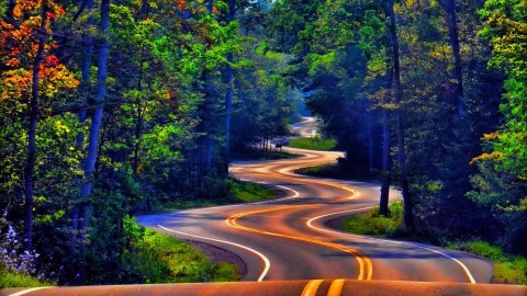 Winding Road wallpapers high quality