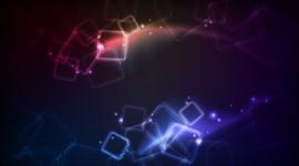 Blue Squares Desktop Wallpaper