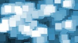 Blue Squares Photo Download