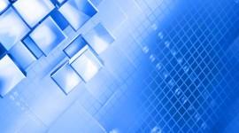 Blue Squares Wallpaper For Desktop