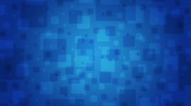 Blue Squares Wallpaper For PC