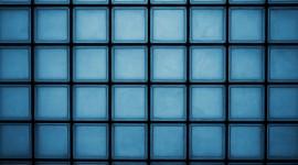 Blue Squares Wallpaper Free