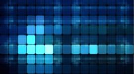 Blue Squares Wallpaper Full HD
