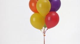 Bouquet Balloons Wallpaper For IPhone