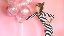 Bouquet Balloons Wallpaper For IPhone#1