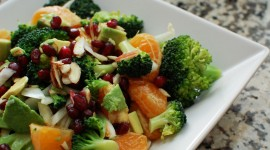 Broccoli Dishes Wallpaper Free