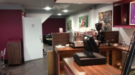 Cozy Cafe Wallpaper HQ