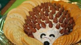 Fruit Hedgehog Wallpaper For IPhone
