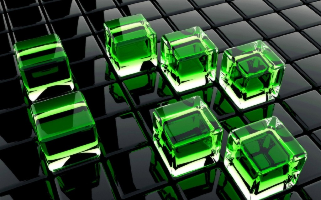 Green Squares wallpapers HD