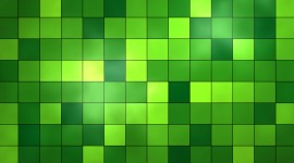 Green Squares Wallpaper HQ