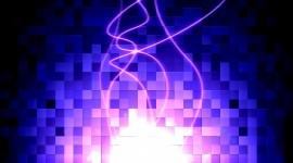 Purple Square Desktop Wallpaper