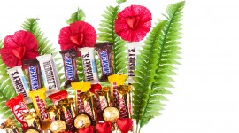 Send A Candy Bouquet Wallpaper