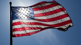 4K American Flag Photo Download