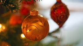 4K Christmas Tree Desktop Wallpaper