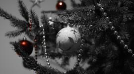 4K Christmas Tree Desktop Wallpaper HD
