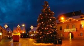 4K Christmas Tree Wallpaper Full HD#1