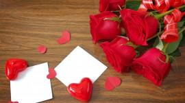 4K Heart Of Roses Photo