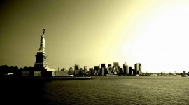 4K Statue Of Liberty Photo
