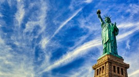 4K Statue Of Liberty Photo Free