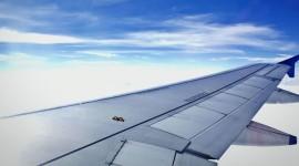 Airplane Wing Photo Free