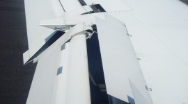 Airplane Wing Wallpaper For IPhone