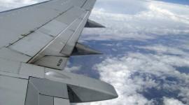 Airplane Wing Wallpaper Full HD