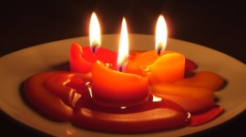 Aroma Candles Desktop Wallpaper