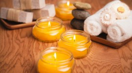 Aroma Candles Wallpaper