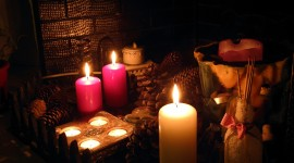 Aroma Candles Wallpaper Download