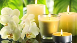 Aroma Candles Wallpaper HQ