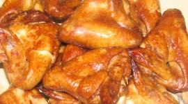 Baked Chicken Wings Photo