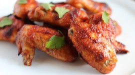 Baked Chicken Wings Photo Free