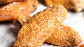 Baked Chicken Wings Wallpaper For Android#1