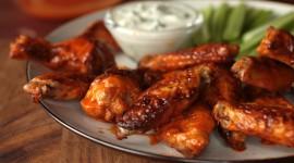 Baked Chicken Wings Wallpaper Full HD#1