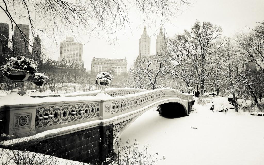 Bridges In Winter wallpapers HD