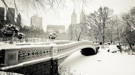 Bridges In Winter Best Wallpaper