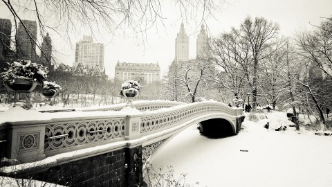 Bridges In Winter wallpapers high quality